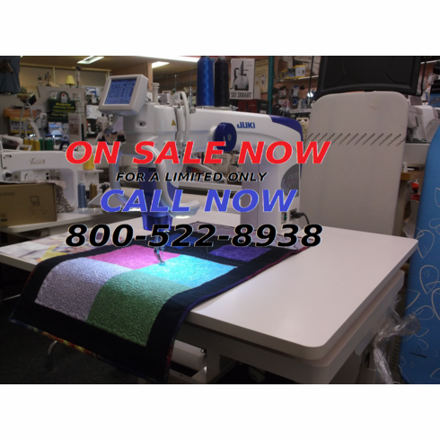 FORWARD FACING SIT DOWN Juki TL-2200 QVP Quilt Virtuoso Pro 18 Long Arm Quilter