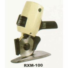 """Gemsy RXM-100 Stand Up Electric Rotary Fabric Cutter - with 4"""" Round Knife Blade"""