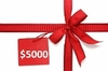 GIFT CERTIFICATE $5000