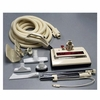 Hayden Central Vacuum Attachment Kit<p> Ivory Power Nozzel w/ Head Light 30' Hose Tools Wands and 6' Pigtail Superkit</p>