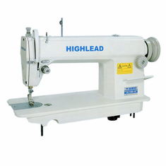 Highlead GC1870- M: High Speed Single Needle Lockstitch Industrial Sewing Machine with Table and <b>SERVO</b> Motor
