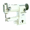 Highlead GC2268:  Cylindrical Bed Heavy Duty Compound Feed Walking Foot Lockstitch Sewing Machine + Servo Motor and Table