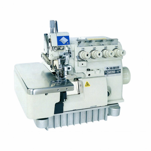 Highlead  GM288-5: High Speed 5 Thread Overlock Sewing Machine Complete with Table <b>SERVO</b> Motor and Stand