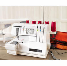 Huskylock� s25 - Innovations that create a new overlock experience