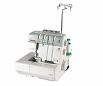 JANOME 1110DX Serger 2/3/4 Threads, Built-in Rolled Hem, Differential Feed, Lay-in Tensions - FREE Deluxe Case.