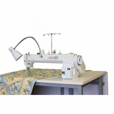 Janome Artistic AQSD / AQSDFF Sit Down Table and SD 18 Long-Arm Quilting Machine - AQSD