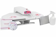 Refurbished:  Janome Artistic EP100  Swiss Elna Design Europe  Fabric Heat Press ~ $ave