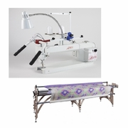 Janome Artistic Quilter 18- AQ18-8dx With Grace Liberty Frame