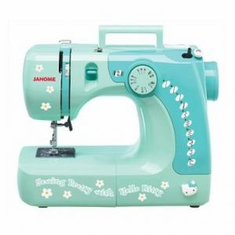 Janome Hello Kitty Sew Pretty Sew Perfect 3/4 Size Sewing Machine<p>IN STORE ONLY
