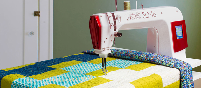 Janome Long and Mid Arm Quilting Machines