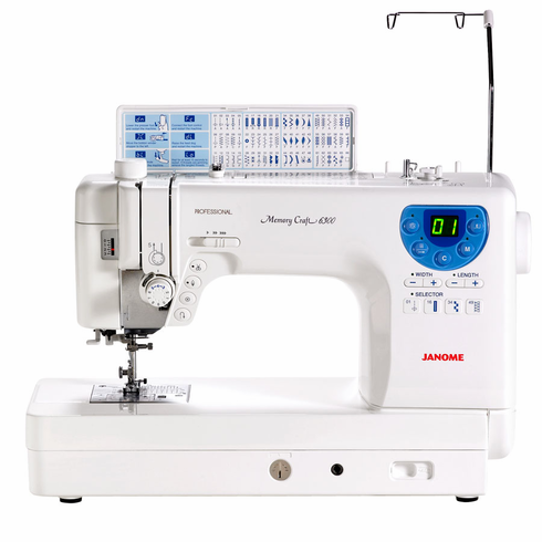 Janome MC6300P- Heavy Duty Professional Sewing and Quilting Machine