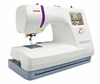 Janome Memory Craft 350E Embroidery Machine Made In Japan<p><b>NOW INCLUDES ARTISTIC MONOGRAM SOFTWARE</b>