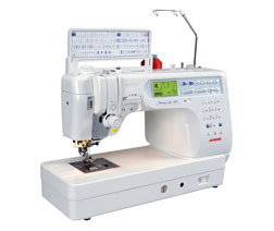 Janome Memory Craft 6600 Professional Quilting and Sewing Machine