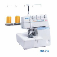 Juki MO-735 2/3/4/5 Thread Coverstitch Serger with Free 8 Piece Specialty Feet Kit