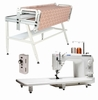 """Juki TL-2000Qi 9"""" Long Arm Quilting Machine WITH NEW 10' Inspira iQuilt Frame (extends to 12' with optional 2' extension kit"""