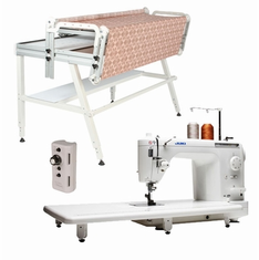 "Juki TL-2000Qi 9"" Long Arm Quilting Machine WITH NEW 10' Inspira iQuilt Frame (extends to 12' with optional 2' extension kit"