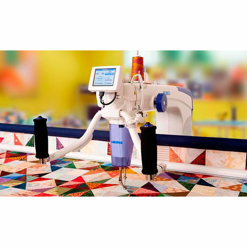 Juki TL-2200 QVP Quilt Virtuoso Pro Long Arm Quilter 18 inch x 10 inch Quilting Machine WITH Frame