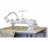 Janome Artistic Quilter AQ SD Sit Down Table and AQ18 Long-Arm Machine