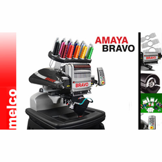 "Melco Amaya Bravo 16 Needle 14x12"" Embroidery Machine Made in the USA!<p><b><i><font color=red><i>  FINANCING AVAILABLE-  60 Months No Interest Equal Payments</font></b></i></p>"
