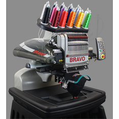 "Melco Amaya Bravo Commercial Embroidery Machine Package ""B"""