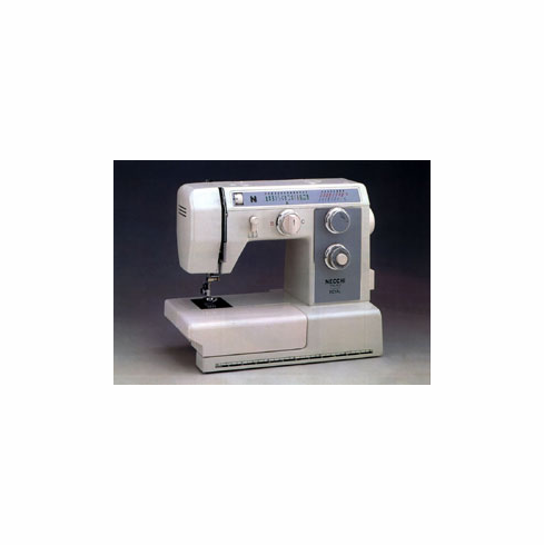 Necchi 4595 Mechanical Sewing Machine. Top of the Line, All Metal and Includes Ruffler!