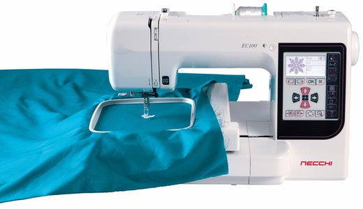 Necchi EC100 Embroidery Only Machine <p>The easy and affordable embroidery-only machine </p>