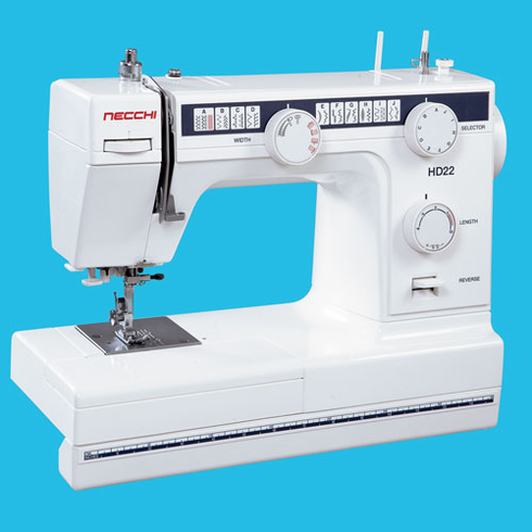 Necchi Heavy Duty HD22 - 22 Stitch Sewing Machine <p><b><i><font color=RED></i>Necchi SALE GOING ON NOW!</font></b></i></p> <B>LOWEST PRICE GUARANTEE 800-522-8938!</B>
