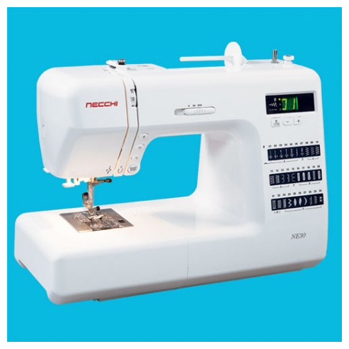 Necchi NE30 Computerized 30 Stitch Sewing Machine <p><b><i><font color=RED>Necchi SALE GOING ON NOW!</font></b></i></p> <B>LOWEST PRICE GUARANTEE   800-522-8938!</B>
