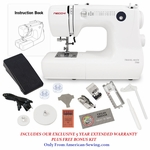 Necchi TM8 � Size 12 LB Heavy Duty Sewing Machine  <p>Great for Travel!</p>