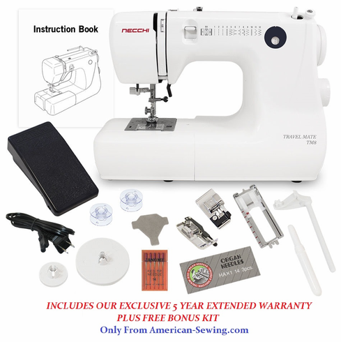 Necchi Sewing Machine TM40 On Sale Now Americansewing Gorgeous Travel Size Sewing Machine