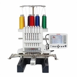 """NEW! Janome MB7<p>""""World's First"""" Professional Home Use Portable Seven Needle Embroidery Machine</P>"""