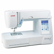 NEW! JANOME SKYLINE S3 Sewing and Quilting Machine PLUS 0% FINANCING* ! - <p> INCLUDES A FREE START UP SEWING KIT AND BONUS FEET </p>