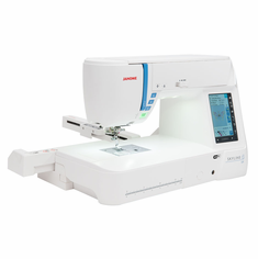 NEW Janome SKYLINE S9 Sewing + Embroidery in One! Packed with Top of the Line Features and WiFi.