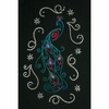 Peacock Embroidery and Crystal Combo Pack #SCROL9