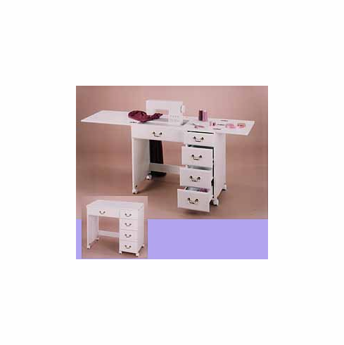 Perfexion Sewing Cabinets: Convertible Sewing Desk PXD350/351 Oak Or White