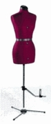 "Prym Dritz DMDS My Double Small Dress Form Adjustable Bust: 33-41"" Waist: 25-33"" Hips 36-44"" Neck & Back 15""+"
