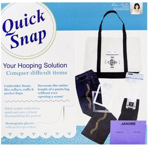 Quick Snap Hoop Set <p></i> Fits all Janome MB4, MB7, Elna 9900, eXpressive 940, eXpert 970 </p></i>