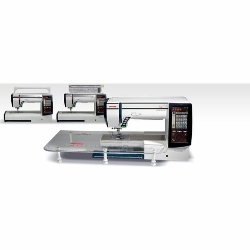 Refurbished: Janome Memory Craft MC12000 Sewing Quilting and Embroidery Machine ~ $AVE