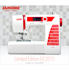 Refurbished:  Janome New Home DC2015 Limited Edition Computerized Sewing Machine with New Features and BONUS START UP KIT!~ $ave