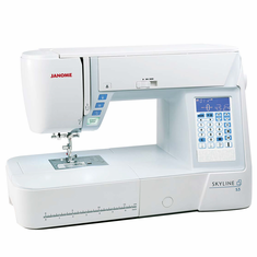 Refurbished:  JANOME SKYLINE S3 Sewing and Quilting Machine  ~ $ave