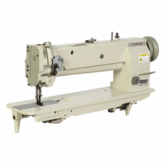 "Reliable 5400SW<p> 18"" SINGLE NEEDLE LONG ARM COMPOUND FEED WALKING FOOT SEWING MACHINE.</p>  <p>LOOKING FOR SOMETHING WITH A LITTLE MORE SEWING SPACE?</p><p> THIS ONE'S GOT 18"" AND THAT MEANS PLENTY OF ROOM"