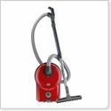 SEBO AIRBELT D4 Premium Canister Vacuum Red with Parquet Floor Tool * includes a free year supply of bags
