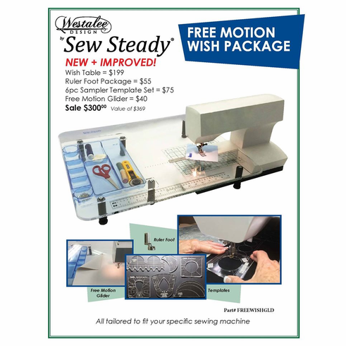 Sew Steady Free Motion Wish Holiday Package