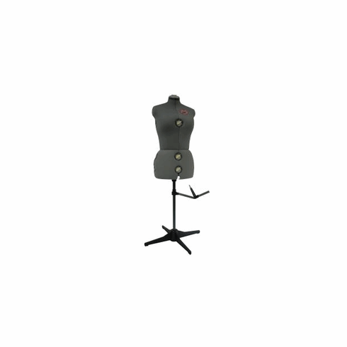 Singer Adjustable Dress Form Model 150 (Gray)