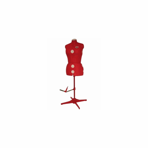 Singer Adjustable Dress Form Model 151 (Red)