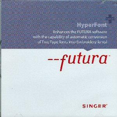 Singer Futura Hyper Font Software for the Singer CE-100 and CE-200