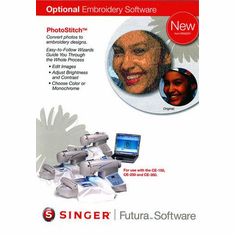 Singer Futura PhotoStitch Embroidery Software for the Singer CE-150, CE-250 and CE-350