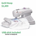 Singer Quantum Futura  CE150 Sewing And Embroidery Machine