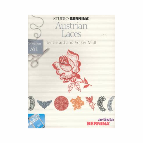 Studio Bernina Artista Austrian Laces By Gerard And Volker Matt