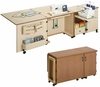 Sylvia Design Model 1050Q Quilter's Sewing & Serger Cabinet
